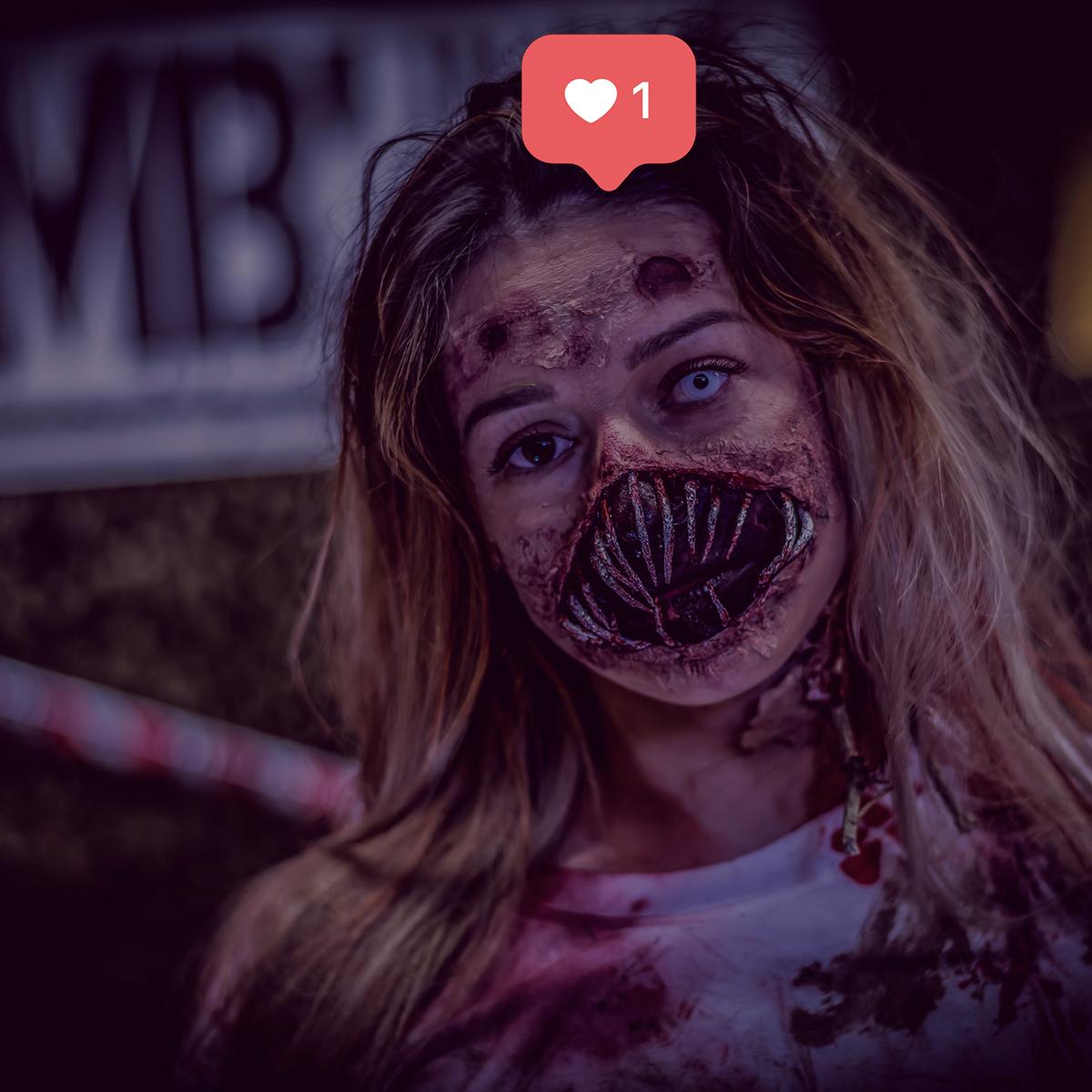 Un zombie sur Instagram - Stratégie réseaux sociaux